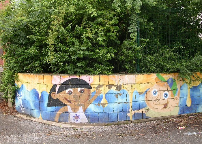 Artwork at Broomhall Playground