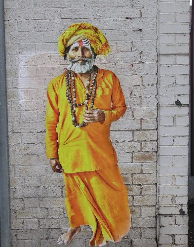 Hindu Holy Man by Alex Ekins, 4 Oct. 13