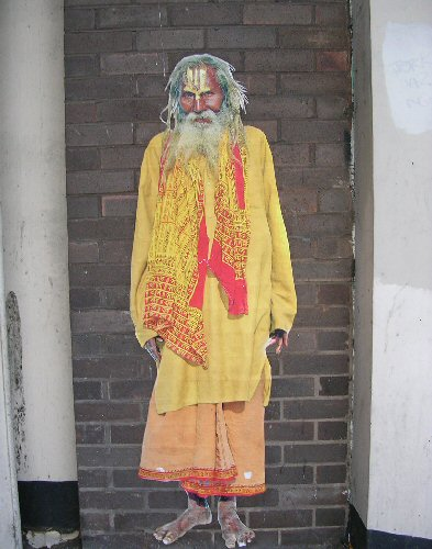 Hindu Holy Man by Alex Ekins, 31 Oct. 13
