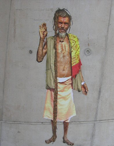 Hindu Holy Man by Alex Ekins, 16 Nov. 13