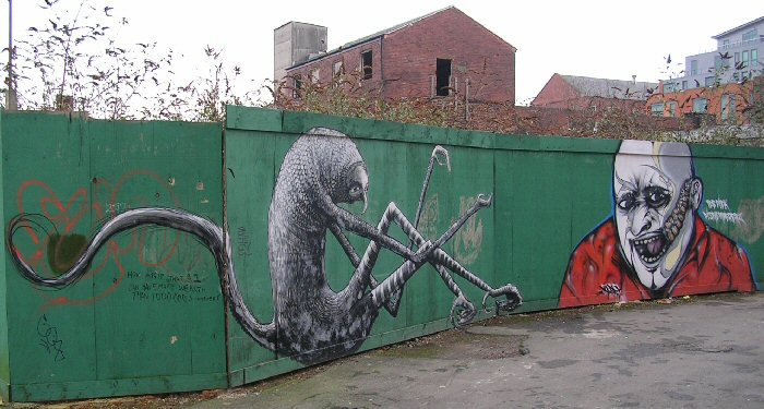 Artwork by Phlegm  and unknown - 7 January 2013