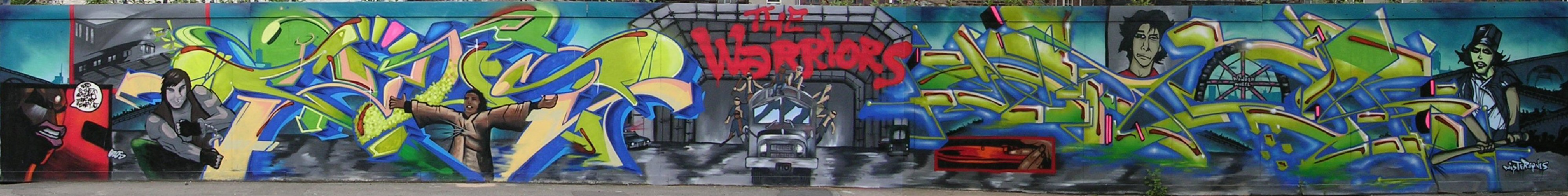The Warriors panorama by Gzos and Jaer - 10 June 2013
