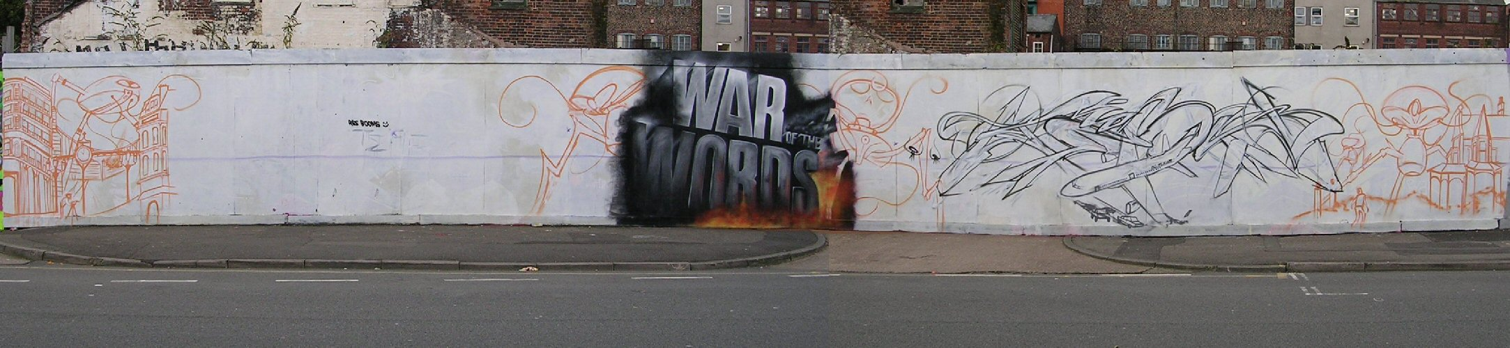 War of Words panorama 26/10/12