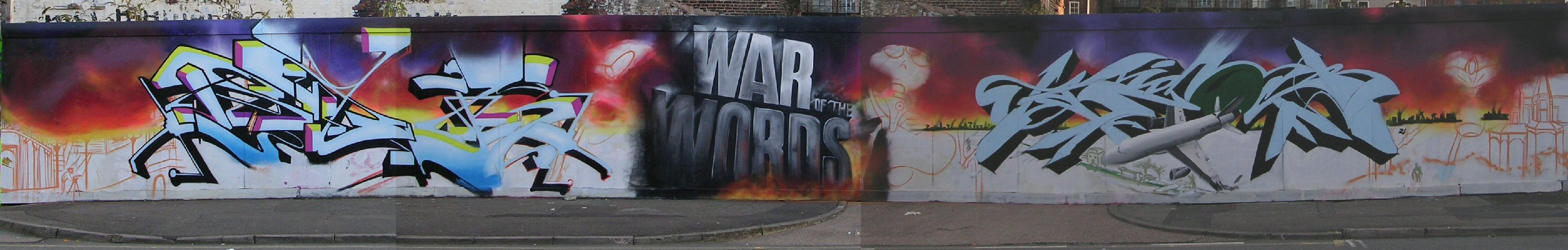 War of Words panorama 27/10/12
