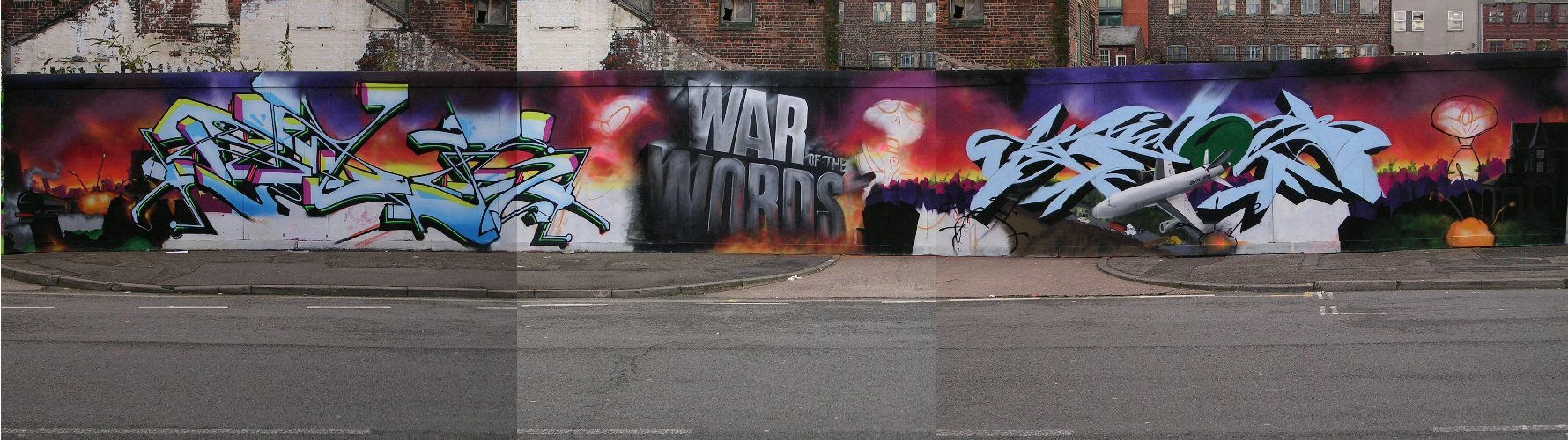 War of Words panorama 29/10/12