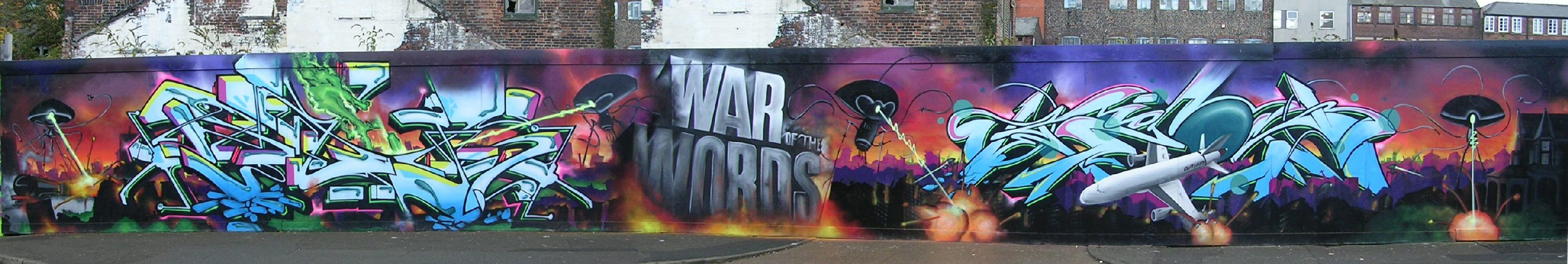 War of Words panorama 3/11/12